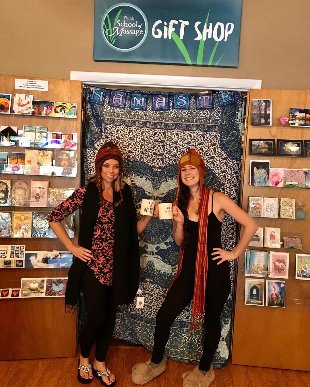 Have you heard about our C O O L November Sale Here at fsmgiftshopandbookstore 20 off mugs 15 off tapestries 10 off hats and scarves