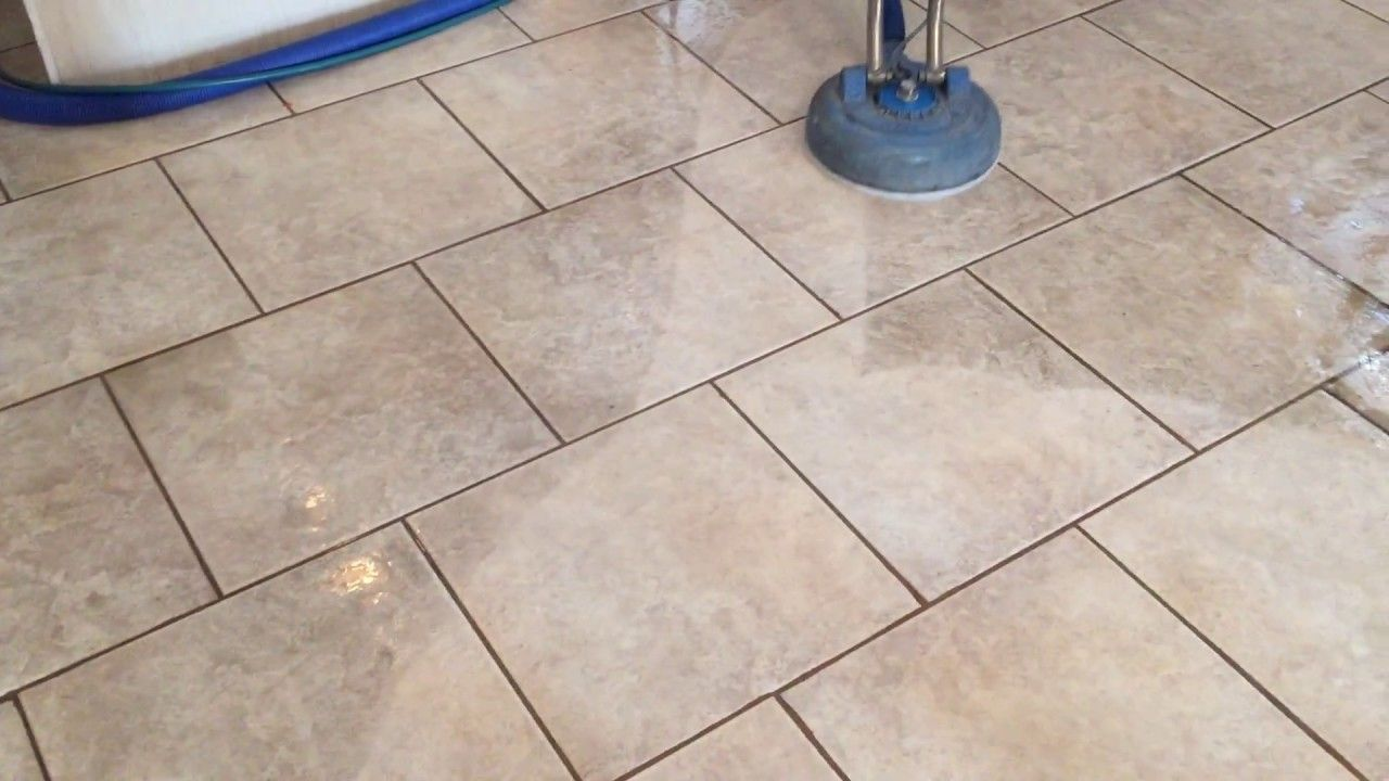 Tile And Grout Cleaning 51 Second Video Demo Las Vegas Nv 89119