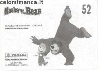 Masha and the bear - Masha e Orso: Retro Figurina n. 52 -