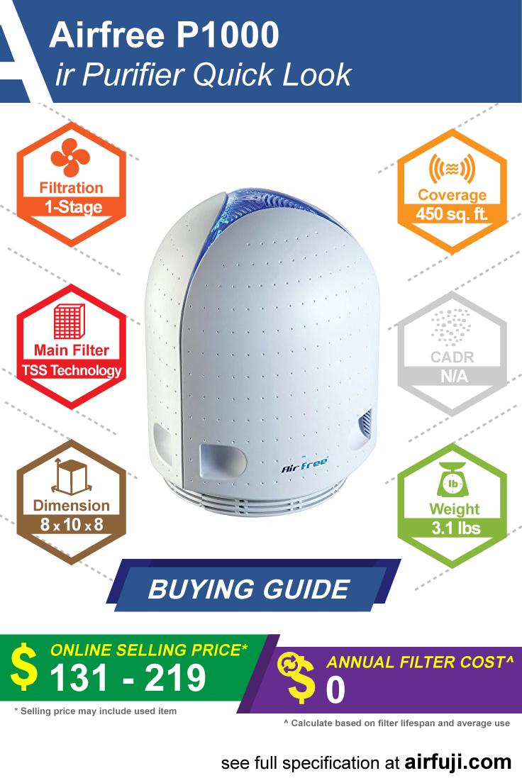 Airfree P1000 Review Air purifier reviews, Air purifier