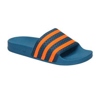 Adidas ADILETTE blauwe heren slipper | 21319 | Adidas ...