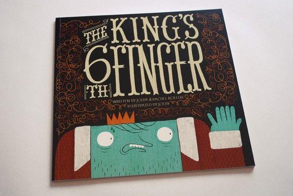 The King's 6th Finger Children's Book