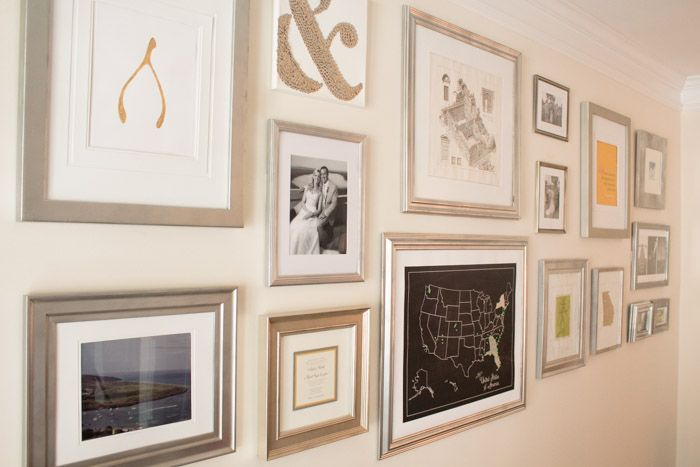 Create a Huge Gallery Wall for Less | Gallery wall, Walls and Galleries