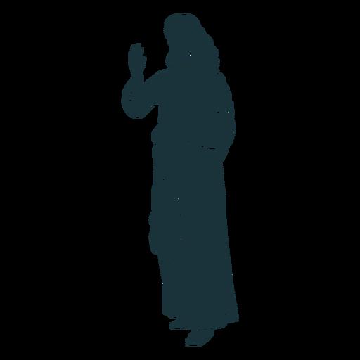 Holy Jesus Silhouette Ad Holy Silhouette Jesus Silhouette Brochure Design Template Silhouette Png