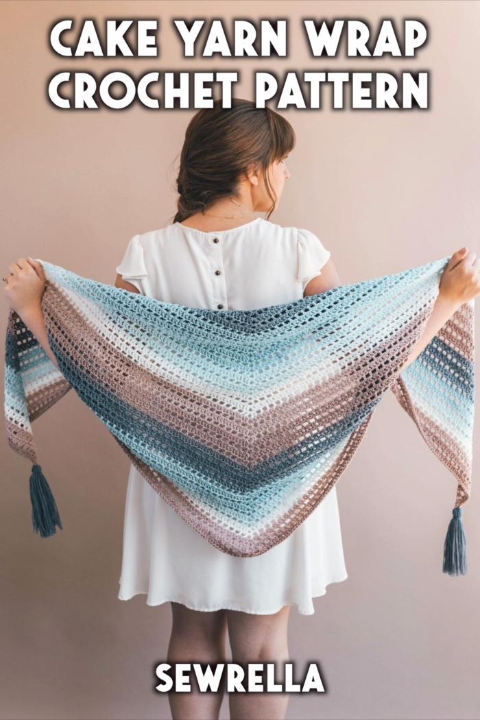 Photo of Crochet Cake Yarn Wrap – free pattern