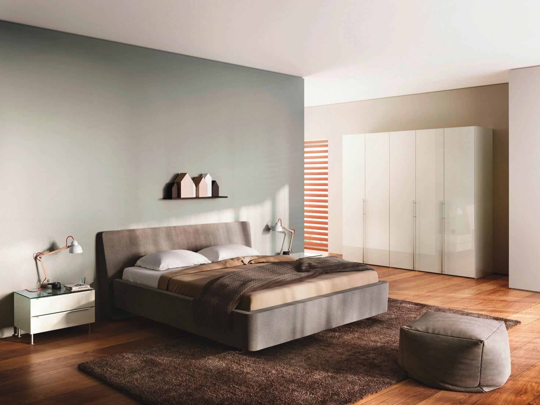 Schlafzimmer in weiß von Hülsta Modernes schlafzimmer