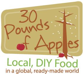 30 Pounds of Apples.  Fun website with lots of fun recipes.