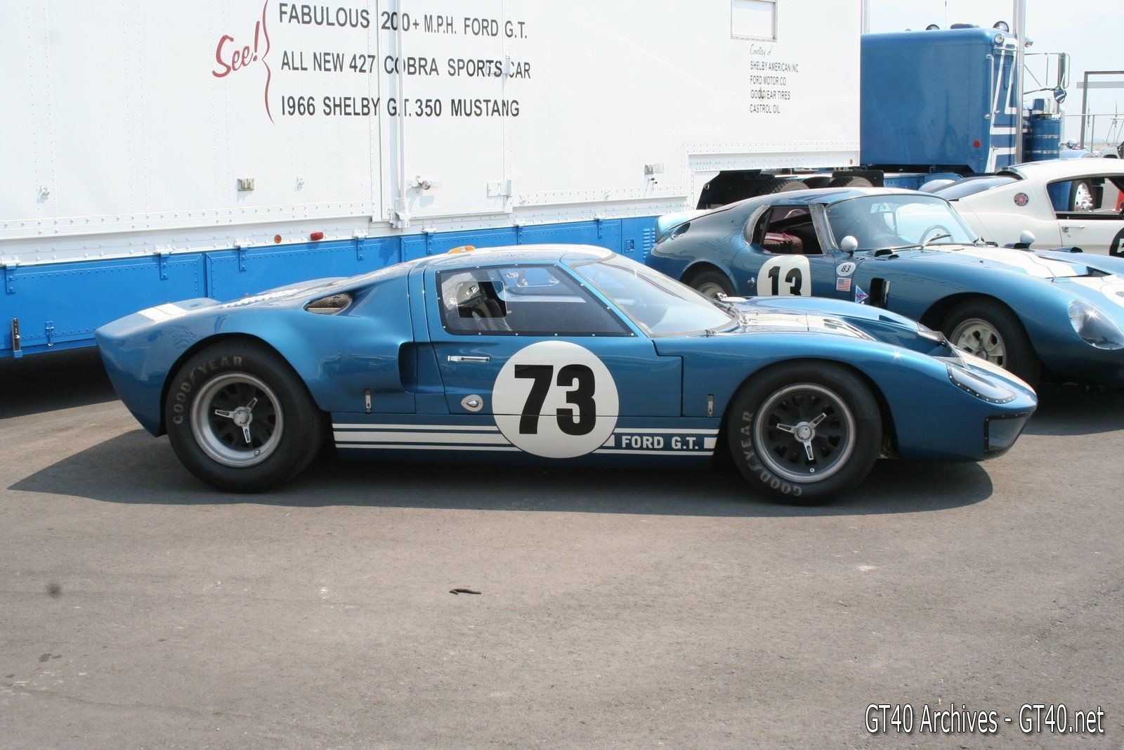 Ford Gt40 Chassis Number Gt 103 1 Gt40 Archives Ford Racing
