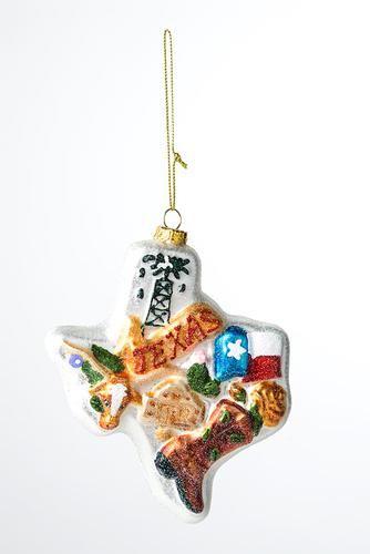 State of Texas Ornament Christmas Pinterest Texas, Ornament