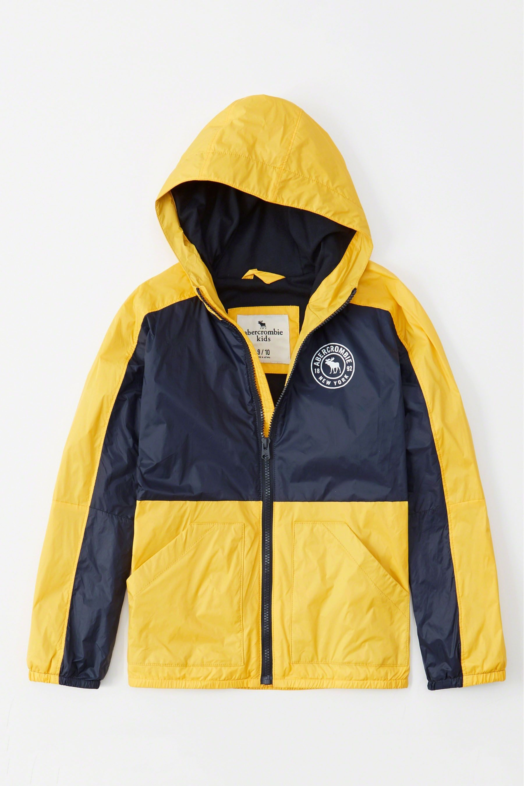 921cf8d499352c Buy Abercrombie & Fitch Colourblock Windbreaker Jacket from the Next ...