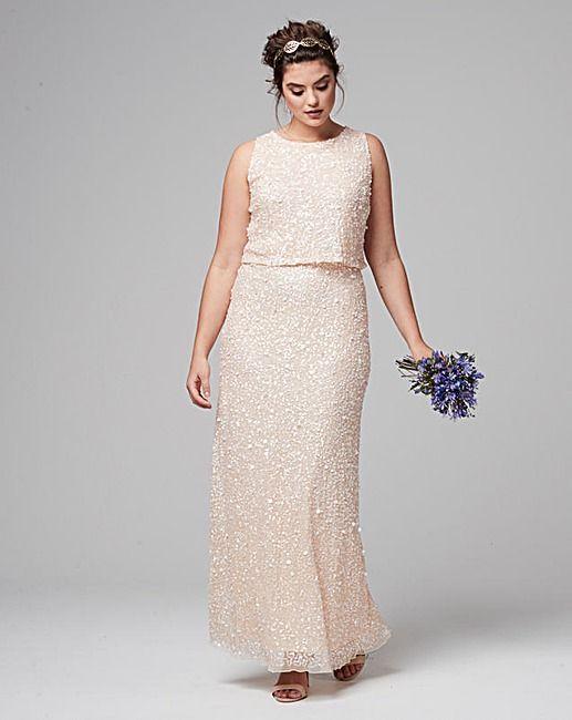 ebfc402a47cd Joanna Hope Sequin Maxi Dress