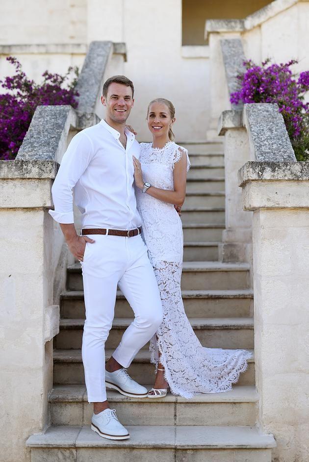 Monopoli Manuel Und Nina Neuer Heiraten In Italienischer Kirche Italienische Hochzeit Fussball Nationalmannschaft Nina Neuer