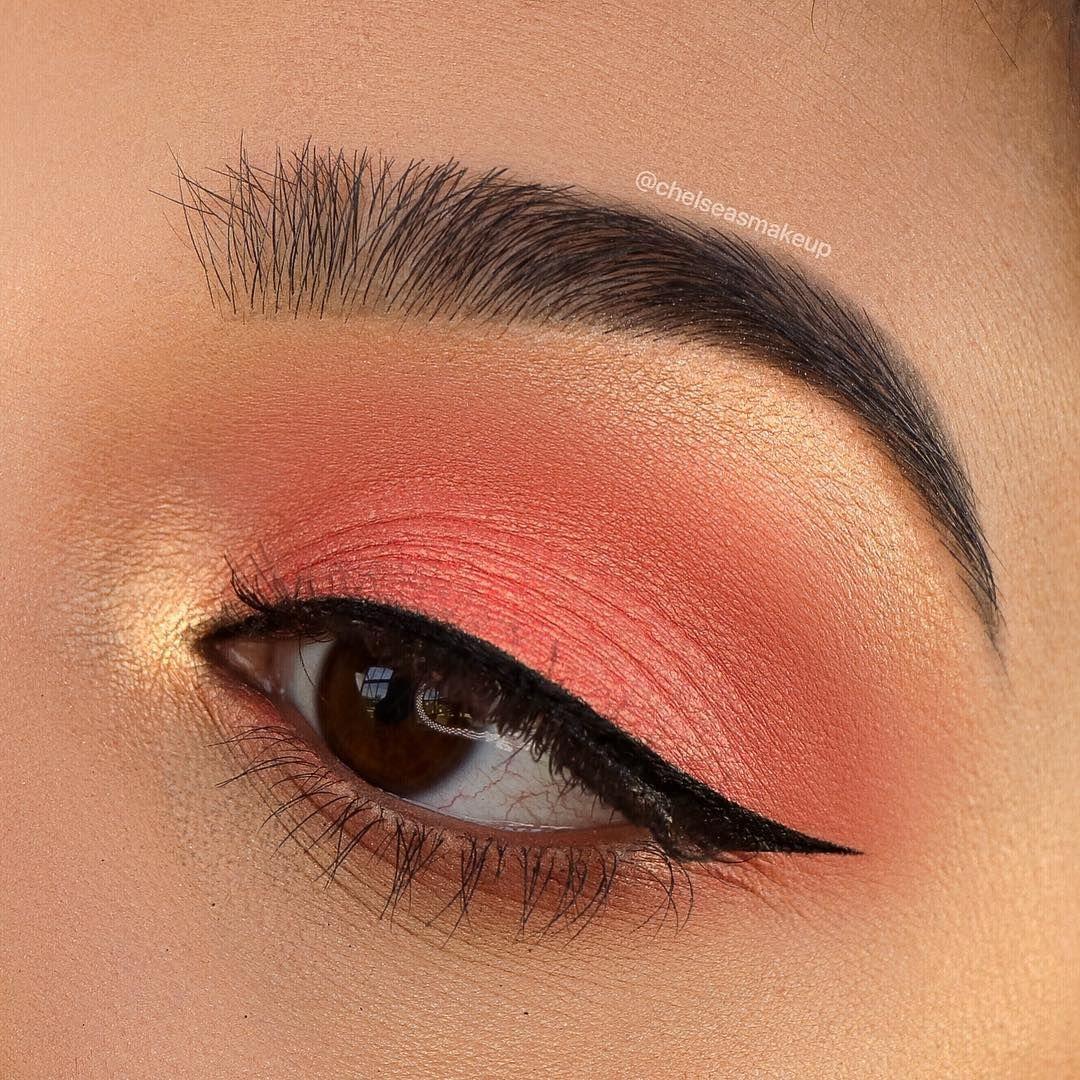 макияж в персиковых тонах фото все только лишь