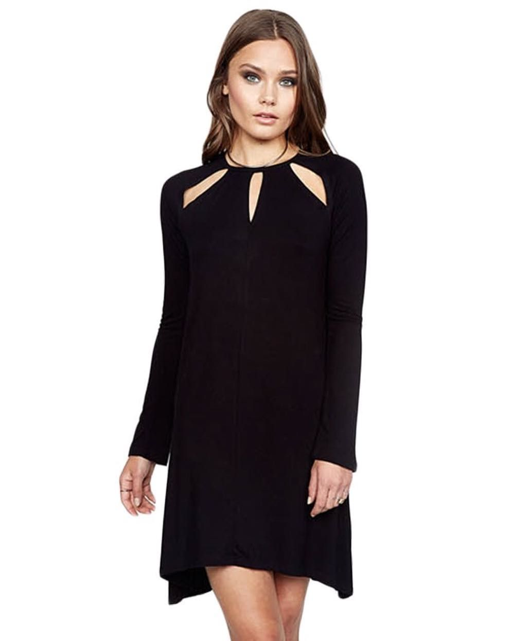 9bfb7de1712 We are swooning over this new Michael Lauren Reef dress This adorable mini  LBD with neck cut outs is so lightweight and fabulous... need we say more !