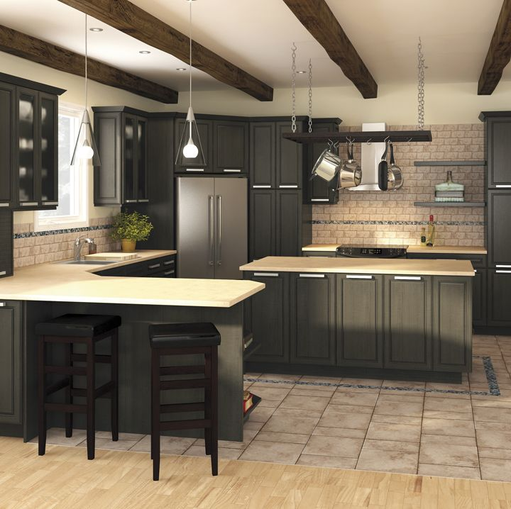 A Guide To Concrete Kitchen Countertops Remodeling 101: Install Pre-fabricated Kitchen Cabinets