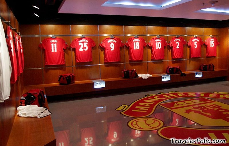 Ryan Giggs Dressing Room Ryan Giggs Manchester United Legends Manchester United