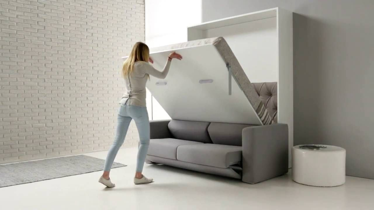 This sofa/bed looks really nice for small apartments https