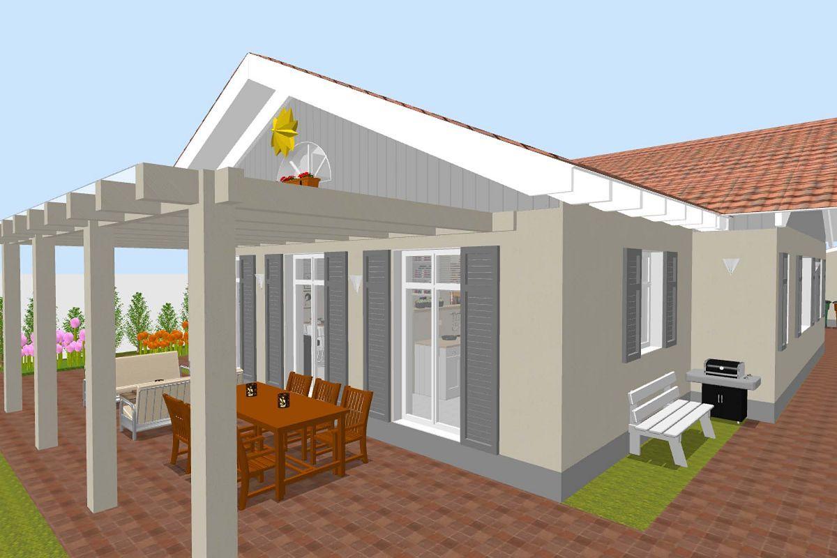 Sweet Home 3d Sweethome3d Terrasse Haus Bauen Haus Planung Haus