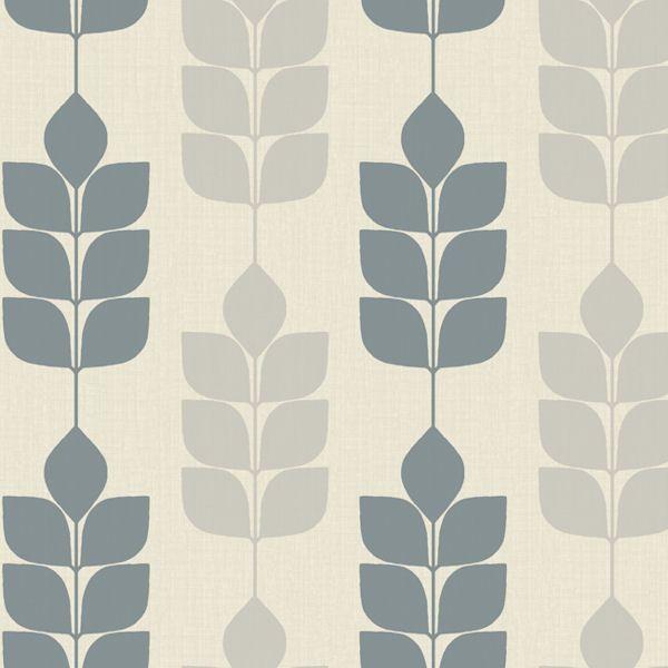 Candice olson light blue modern petals wallpaper wall sticker outlet