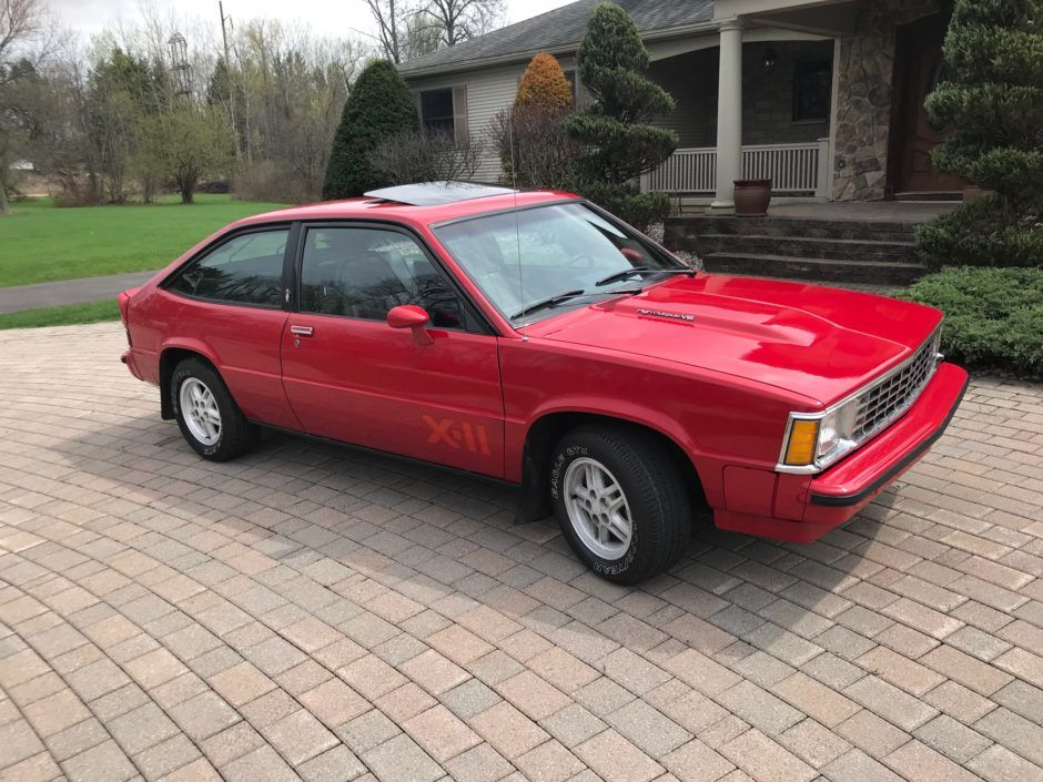 No Reserve 1981 Chevrolet Citation X 11 4 Speed Chevrolet Classic Cars Classic Cars Online