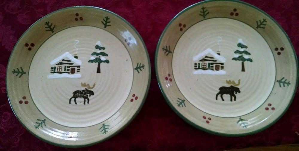 Lodge Moose Lodge Tree Salad Plates 2 Sonoma #GenuineSonomaHomeGoods & Lodge Moose Lodge Tree Salad Plates 2 Sonoma #GenuineSonomaHomeGoods ...