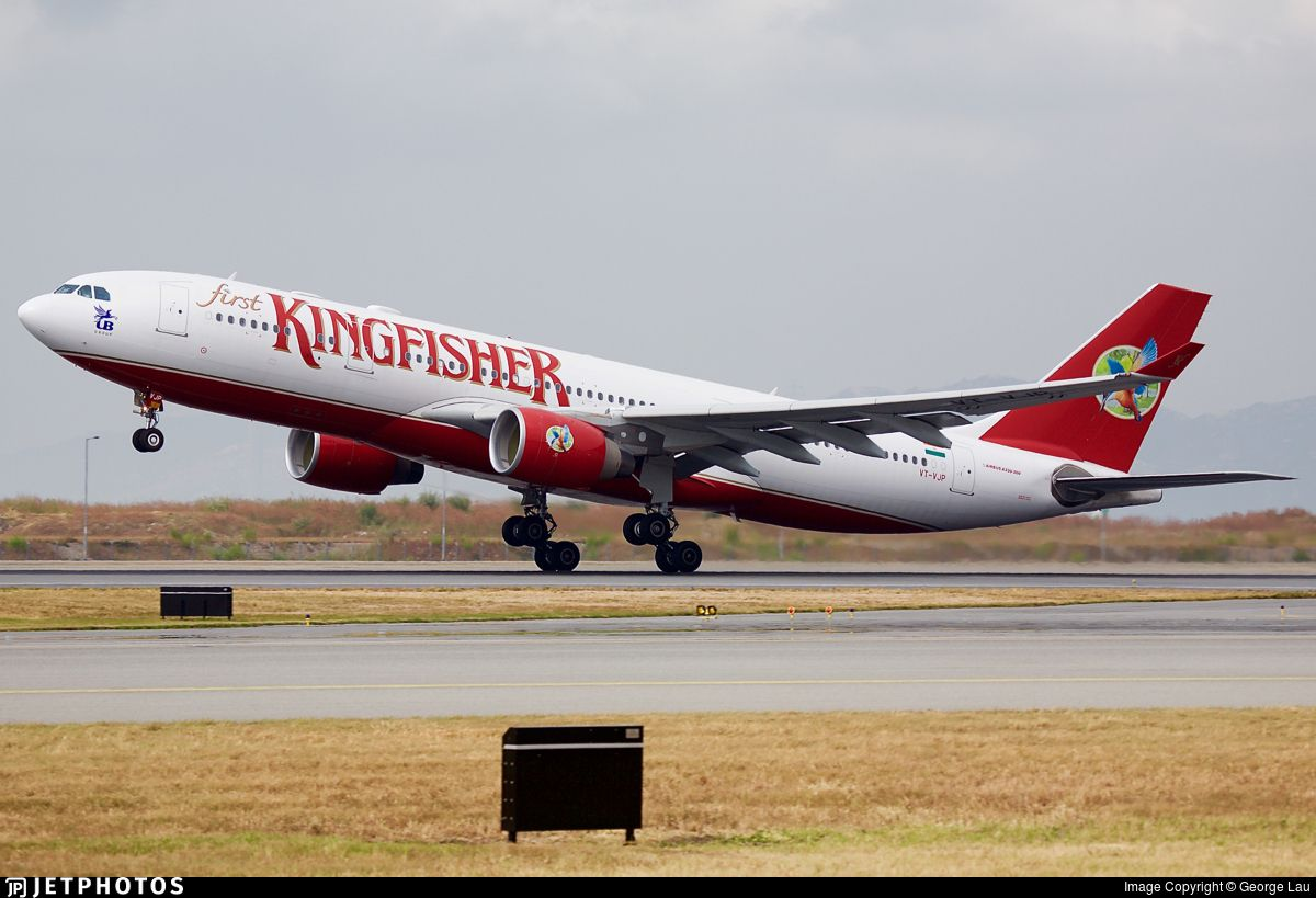 Photo of VTVJP Airbus A330223 Kingfisher Airlines