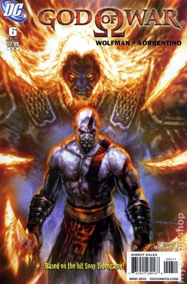 God Of War 2010 Dc Wildstorm 6 Kratos God Of War God Of War God Of War Series