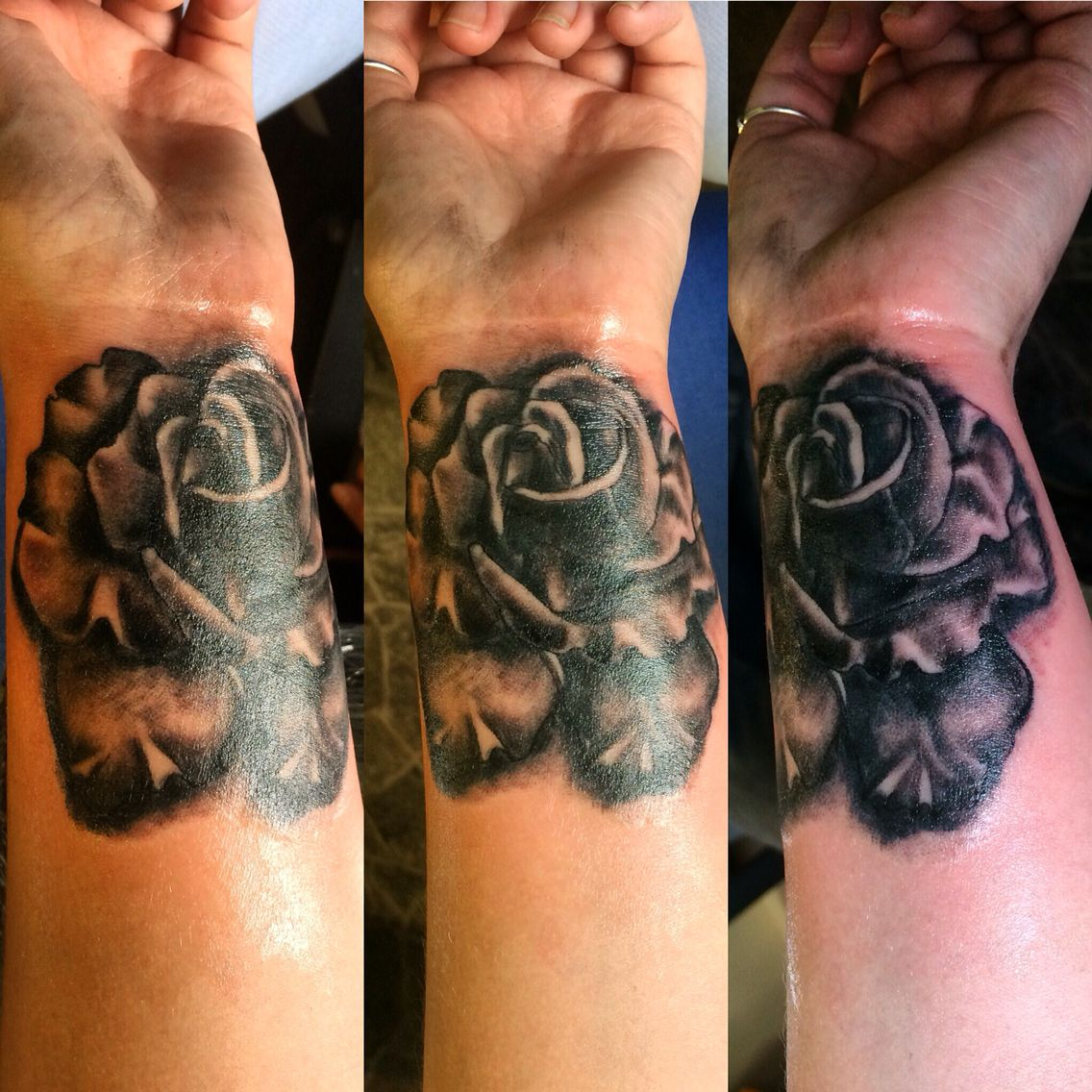 12 rose tattoos tribal rose tattoos tribal tattoos for Wrist cover up tattoo