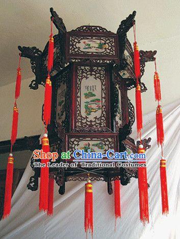 Chinese Classical Handmade And Carved Hanging Palace Lantern Pagoda Lanterns Lanterns Decor Lanterns