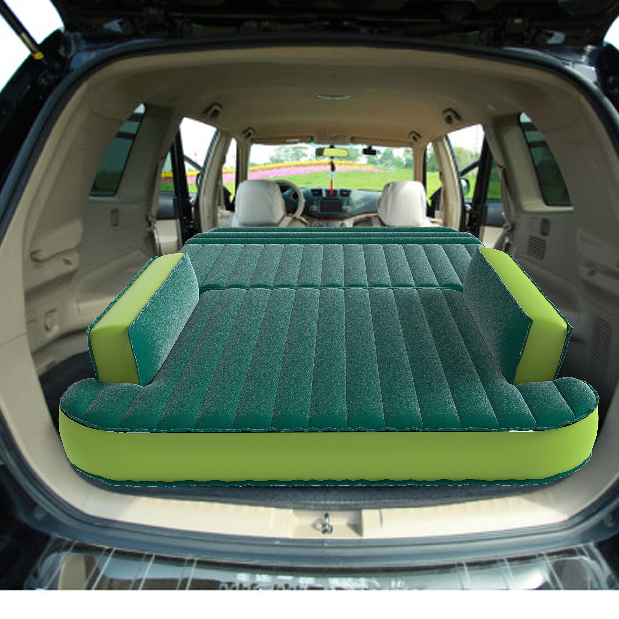 Suv Bed Platform Part - 45: $119 - Amazon - SmartSpeed® SUV Car Air Bed For Travel Car Back Seat Air