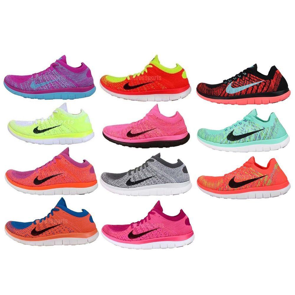 Womens Wmns Nike Free Flyknit 4.0 Nike Free Run Barefoot ...