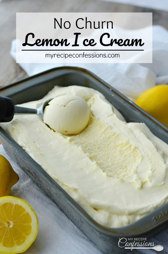 No Churn Lemon Ice Cream is a gift from Heaven Its creamy custardlike texture and refreshing flavor with leave you breathless You dont need a ice cream maker to make this...