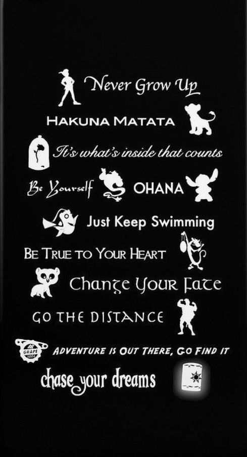 Disney Quotes All About Disney Disney Lessons Disney Phone
