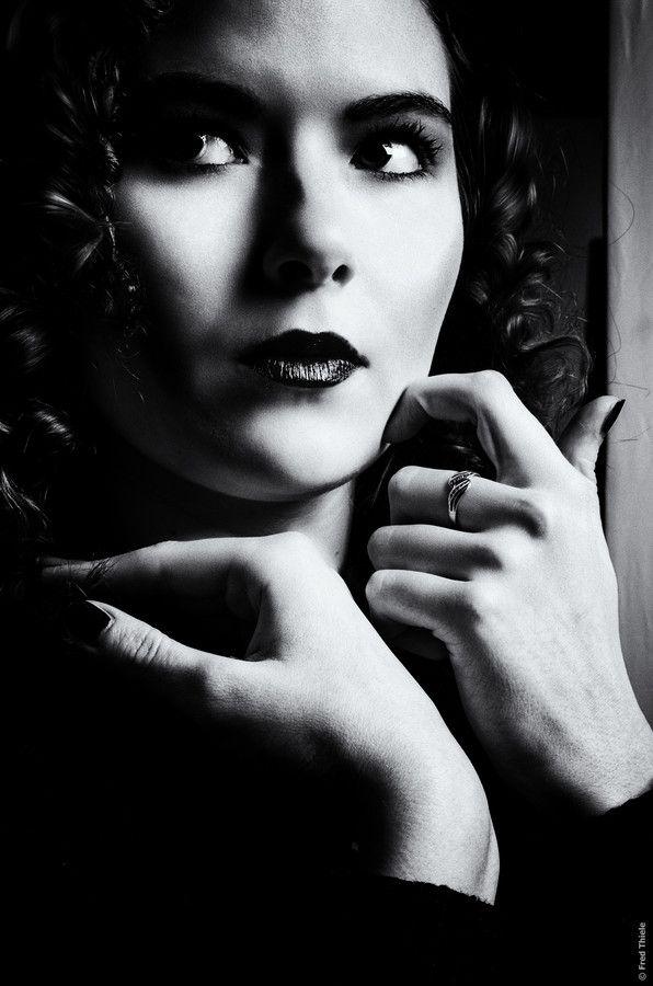 mademoiselle noir w/ lady vom lande by Fred Thiele on 500px