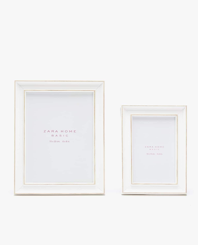 DOUBLE EDGE LAYERED FRAME - See all - PHOTO FRAMES - DECORATION | Zara Home United Kingdom