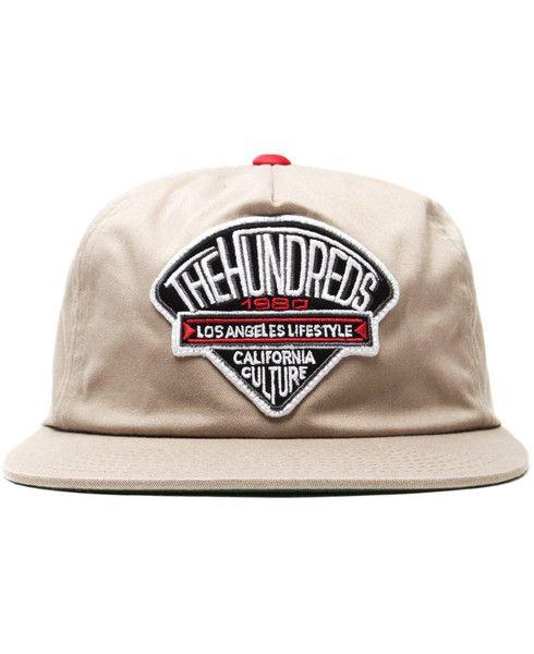 THE HUNDREDS - DIME SNAPBACK CAP (KHAKI)  cee1fa3bd771