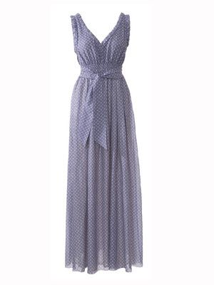 NR. 125-042013-DL Maxikleid - Bindegürtel | Одежда | Pinterest ...