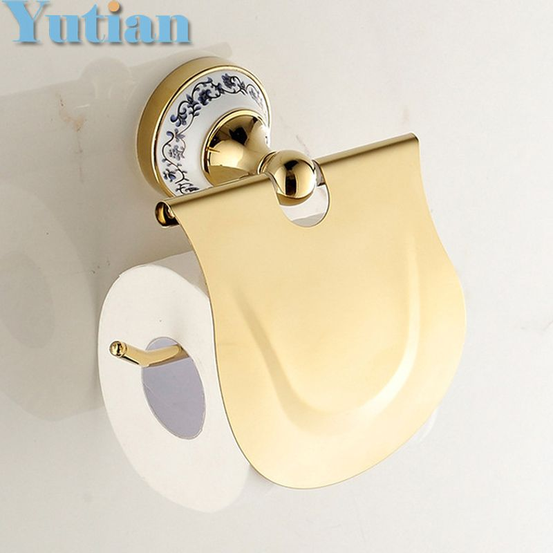 Free Shipping,Solid Brass toilet paper box toilet paper holder ...