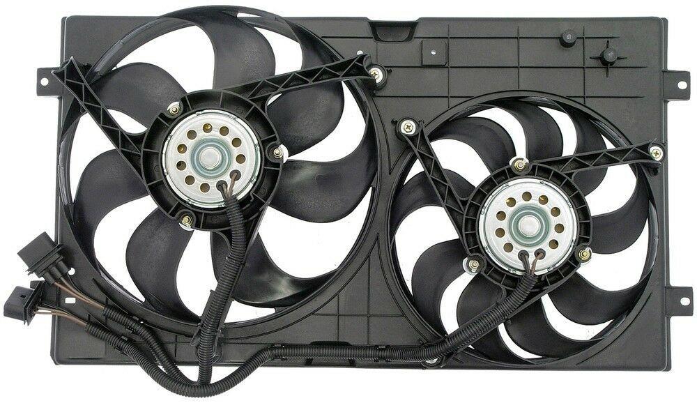 Engine Cooling Fan Assembly Fits 1998 2006 Volkswagen Beetle Dorman Oe Solution Radiator Fan Fan Cooling System