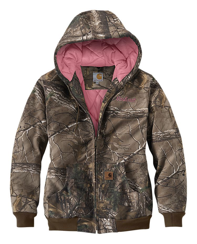Need this!!!!!! Carhartt Camo Active Jac for Ladies   Bass Pro Shops
