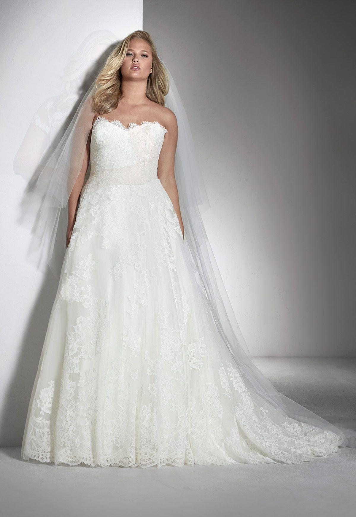 Vestidos novia white one