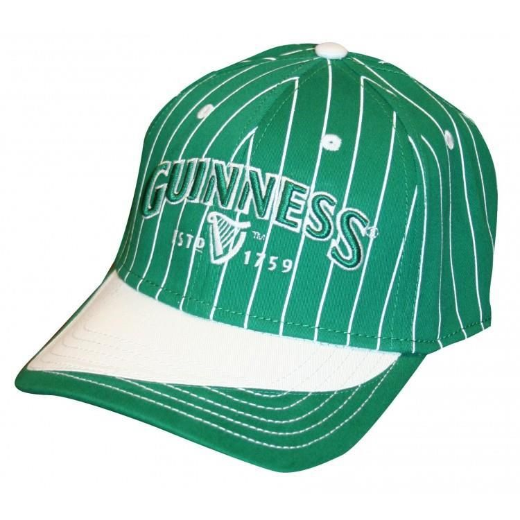 Mully's Touch of Ireland - Guinness  Pinstripe Hat, $24.95 (http://www.mullystouchofireland.com/guinness-pinstripe-hat/)