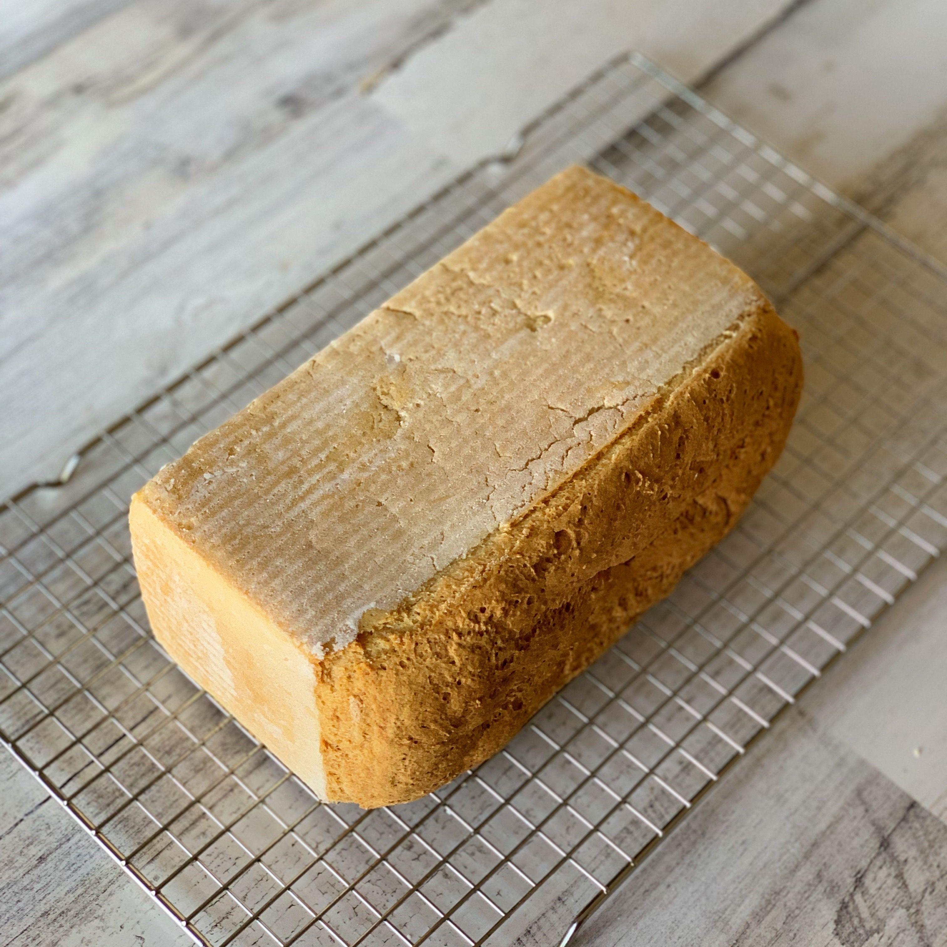 Fluffy Vegan & Gluten Free White Sandwich Bread Small