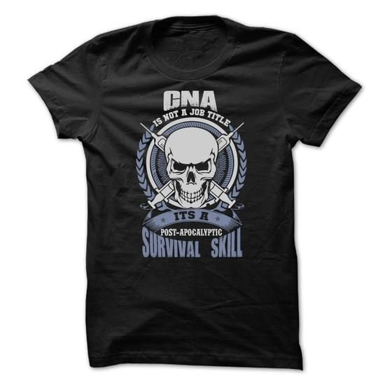 Awesome CNA Shirt - #gift #gift for guys. MORE INFO  => https://www.sunfrog.com/Fitness/Awesome-CNA-Shirt-29103904-Guys.html?id=60505