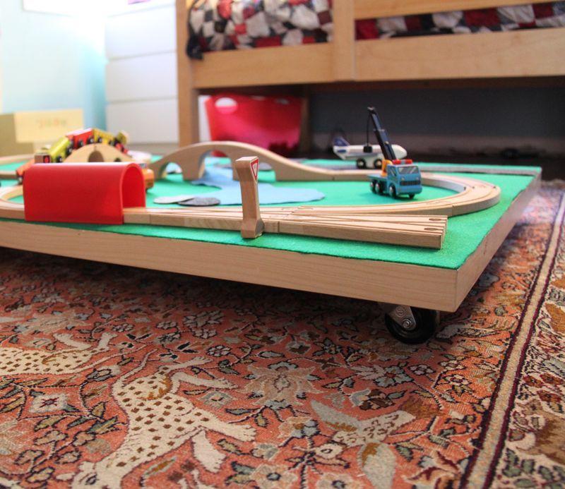Diy Train Table Diy Crafts Train Table Lego Table