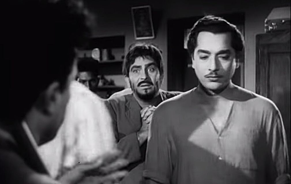 """Day 20 - Most outstanding performance of an actor in a leading role: Raj Kapoor in """"Jagte Raho"""" (1956) I am so sorry, that you get Raj Kapoor again and again in this challenge. But I can't help it...."""