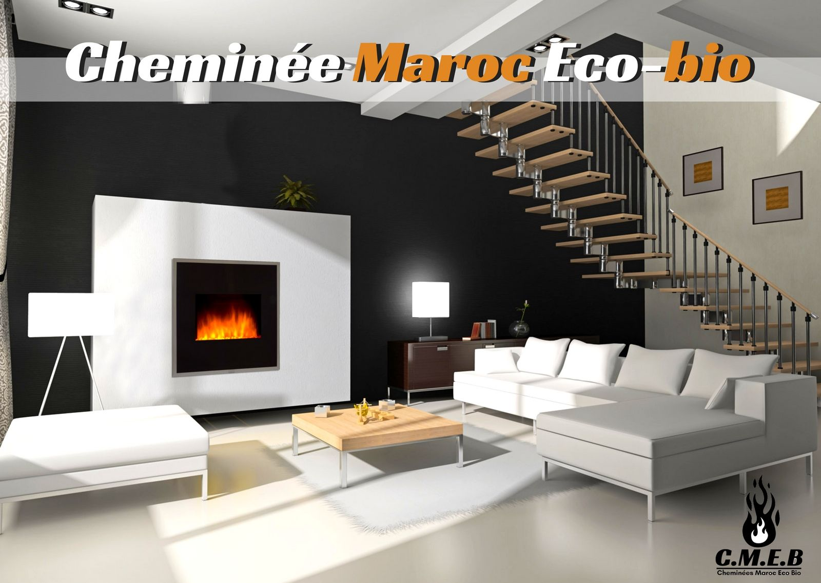 Cheminée Maroc Eco Bio 107 04 Avenue Hassan Ii 20800 Mohammédia Wall Mounted Fireplace Dream Living Rooms Modern Fireplace