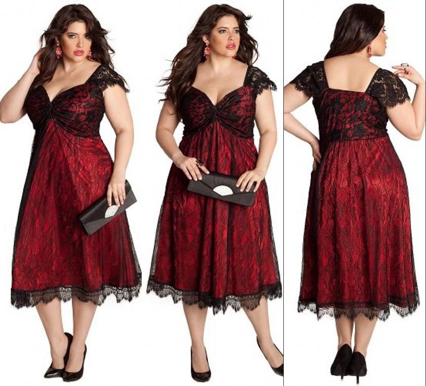 28226acc9c984 Free shipping, $106.5/Piece:buy wholesale Fashion Tea length Lace ...