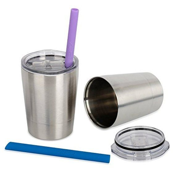 8454ebe1eb1 Engraved kids stainless steel tumbler with straw and spill proof lid ...