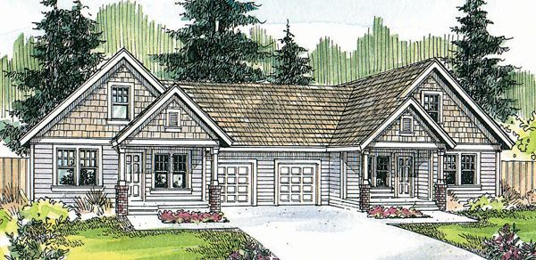 Plan No.347006 House Plans by WestHomePlanners.com